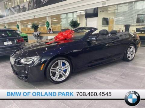 2015 BMW 6 Series for sale at BMW OF ORLAND PARK in Orland Park IL