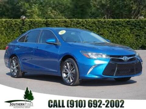 2017 Toyota Camry for sale at PHIL SMITH AUTOMOTIVE GROUP - Manager's Specials in Lighthouse Point FL