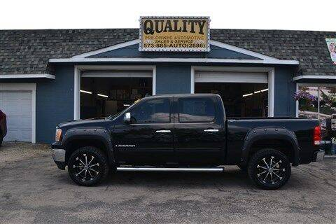 2009 GMC Sierra 1500 for sale at Quality Pre-Owned Automotive in Cuba MO