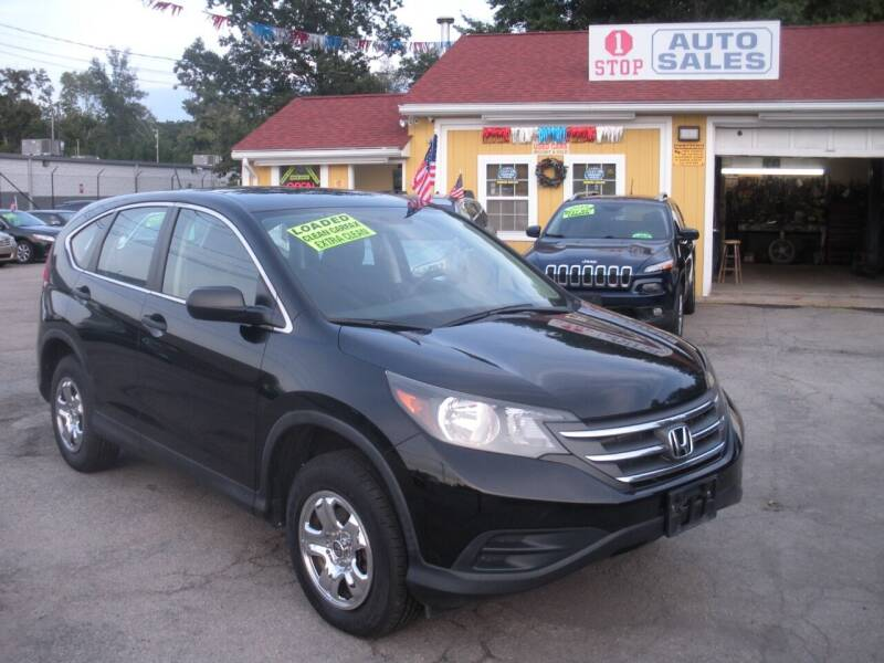 2013 Honda CR-V for sale at One Stop Auto Sales in North Attleboro MA