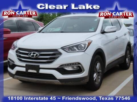 2018 Hyundai Santa Fe Sport for sale at Ron Carter  Clear Lake Used Cars in Houston TX