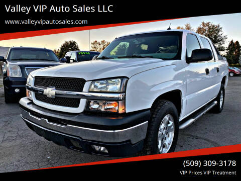 2004 Chevrolet Avalanche for sale at Valley VIP Auto Sales LLC in Spokane Valley WA