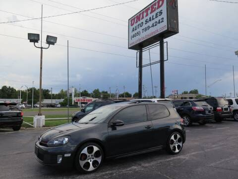 2011 Volkswagen GTI for sale at United Auto Sales in Oklahoma City OK