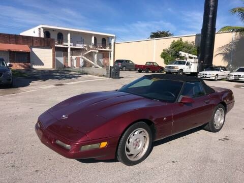 1993 Chevrolet Corvette for sale at Florida Cool Cars in Fort Lauderdale FL