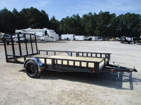 """2022 PJ Trailers 83"""" x 14' 83"""" Single Axle Chan for sale at Vehicle Network - HGR'S Truck and Trailer in Hope Mills NC"""