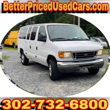 2007 Ford E-Series Wagon for sale at Better Priced Used Cars in Frankford DE