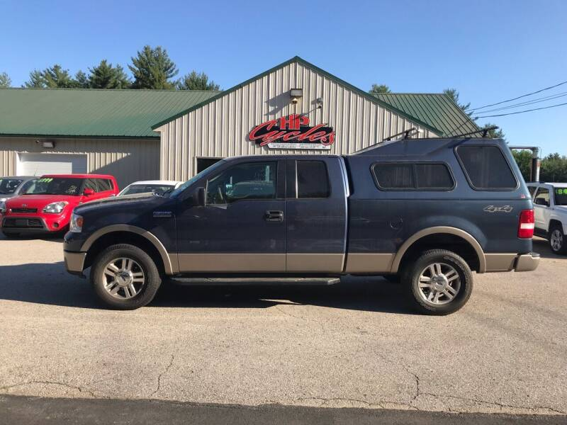 2006 Ford F-150 for sale at HP AUTO SALES in Berwick ME