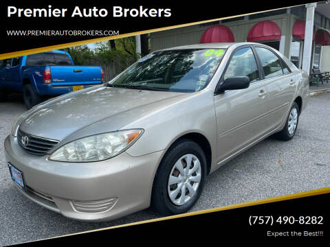 2005 Toyota Camry for sale at Premier Auto Brokers in Virginia Beach VA