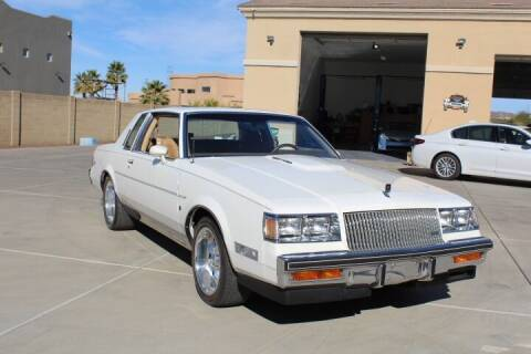 1987 Buick Regal for sale at CLASSIC SPORTS & TRUCKS in Peoria AZ