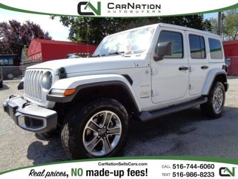 2018 Jeep Wrangler Unlimited for sale at CarNation AUTOBUYERS Inc. in Rockville Centre NY