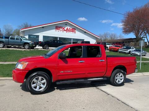 2012 Nissan Titan for sale at Efkamp Auto Sales LLC in Des Moines IA