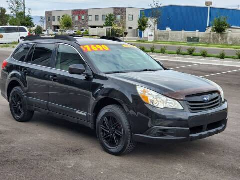 2011 Subaru Outback for sale at FRESH TREAD AUTO LLC in Springville UT