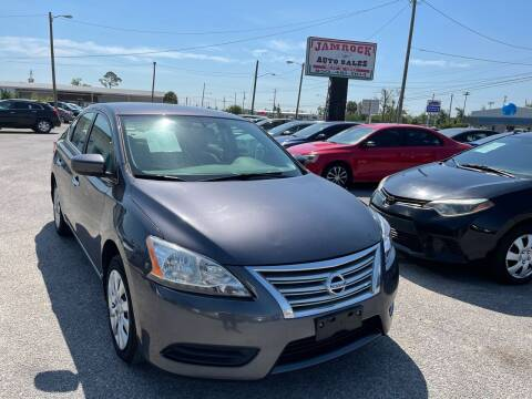 2014 Nissan Sentra for sale at Jamrock Auto Sales of Panama City in Panama City FL
