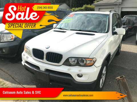 2006 BMW X5 for sale at Coliseum Auto Sales & SVC in Charlotte NC