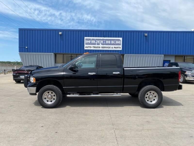 2003 Dodge Ram Pickup 2500 for sale at HATCHER MOBILE SERVICES & SALES in Omaha NE