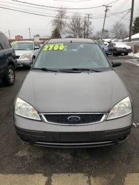 2006 Ford Focus for sale at Al's Linc Merc Inc. in Garden City MI