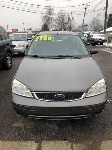 2006 Ford Focus for sale at Al's Linc Merc Inc. in Garden City MI