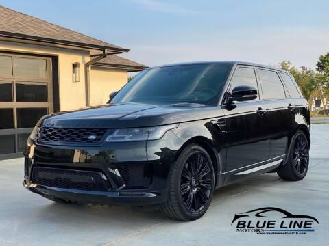 2019 Land Rover Range Rover Sport for sale at Blue Line Motors in Bixby OK