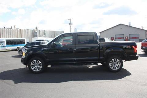 2018 Ford F-150 for sale at SCHMITZ MOTOR CO INC in Perham MN