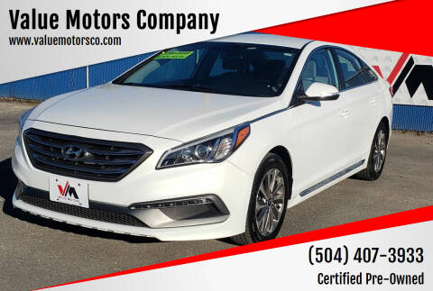 2016 Hyundai Sonata for sale at Value Motors Company in Marrero LA