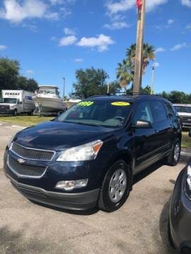 2012 Chevrolet Traverse for sale at DAN'S DEALS ON WHEELS in Davie FL