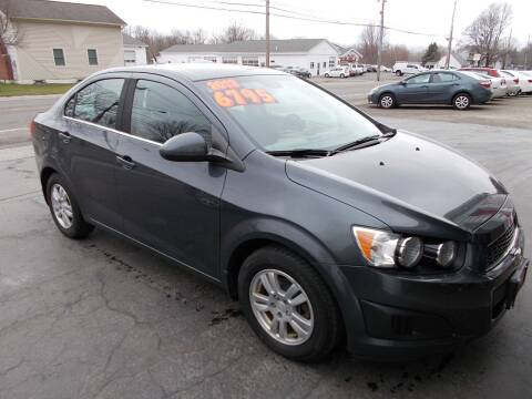2013 Chevrolet Sonic for sale at Dansville Radiator in Dansville NY