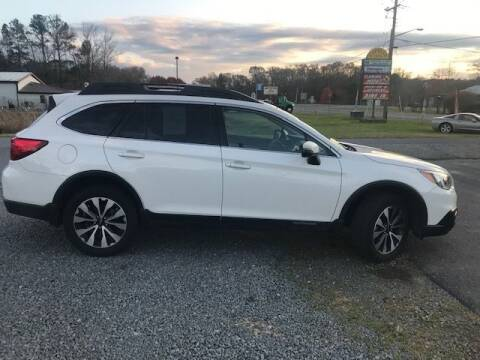 2016 Subaru Outback for sale at J Wilgus Cars in Selbyville DE