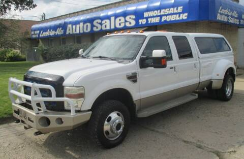 2008 Ford F-350 Super Duty for sale at Lookin-Nu Auto Sales in Waterford MI