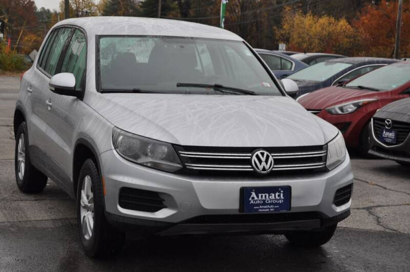 2014 Volkswagen Tiguan for sale at Amati Auto Group in Hooksett NH