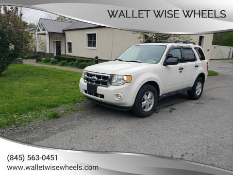 2010 Ford Escape for sale at Wallet Wise Wheels in Montgomery NY