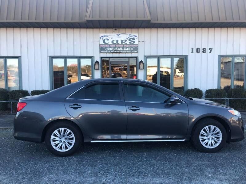 2012 Toyota Camry for sale at Carolina Auto Resale Supercenter in Reidsville NC