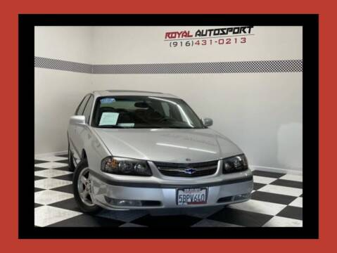 2003 Chevrolet Impala for sale at Royal AutoSport in Sacramento CA