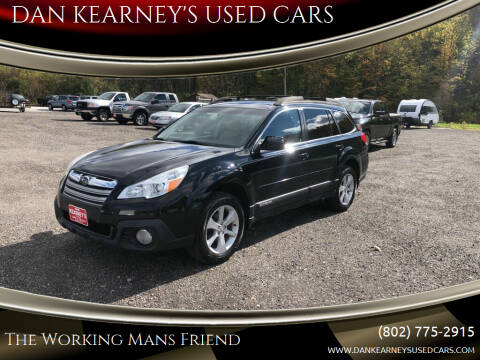 2014 Subaru Outback for sale at DAN KEARNEY'S USED CARS in Center Rutland VT