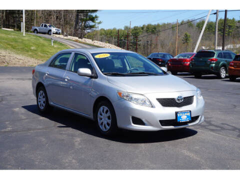 2010 Toyota Corolla for sale at VILLAGE MOTORS in South Berwick ME