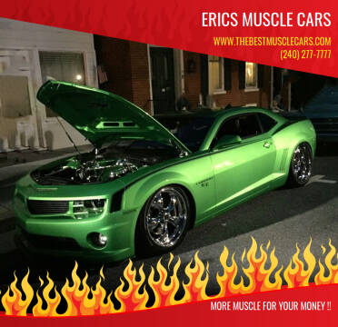 2011 Chevrolet Camaro for sale at Erics Muscle Cars in Clarksburg MD