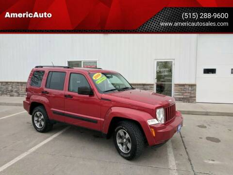 2008 Jeep Liberty for sale at AmericAuto in Des Moines IA