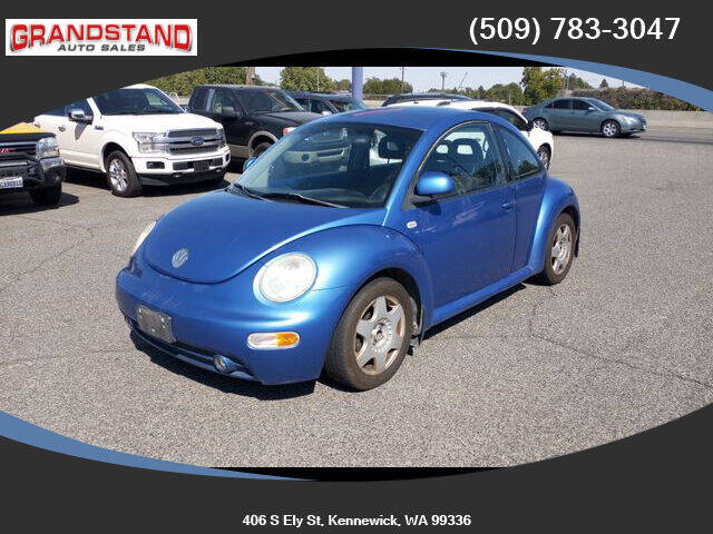 1999 Volkswagen New Beetle for sale at Grandstand Auto Sales in Kennewick WA