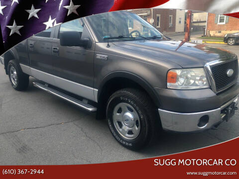 2007 Ford F-150 for sale at Sugg Motorcar Co in Boyertown PA