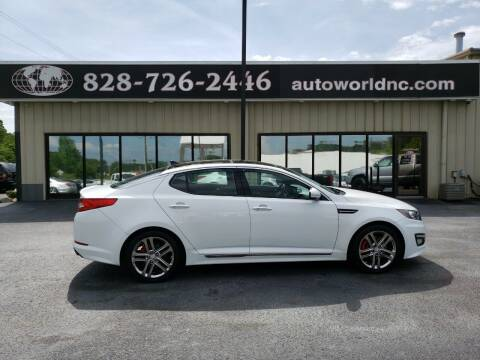 2013 Kia Optima for sale at AutoWorld of Lenoir in Lenoir NC