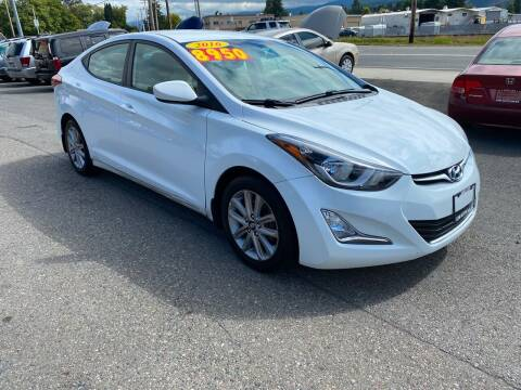 2016 Hyundai Elantra for sale at Low Auto Sales in Sedro Woolley WA