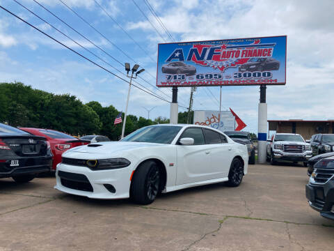 2020 Dodge Charger for sale at ANF AUTO FINANCE in Houston TX