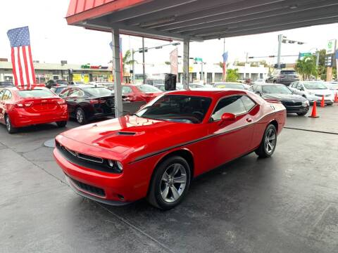 2019 Dodge Challenger for sale at American Auto Sales in Hialeah FL
