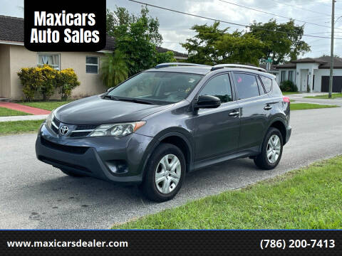2014 Toyota RAV4 for sale at Maxicars Auto Sales in West Park FL