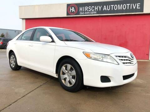 2011 Toyota Camry for sale at Hirschy Automotive in Fort Wayne IN
