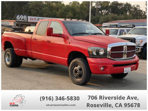 2004 Dodge Ram Pickup 3500 for sale at OT CARS AUTO SALES in Roseville CA