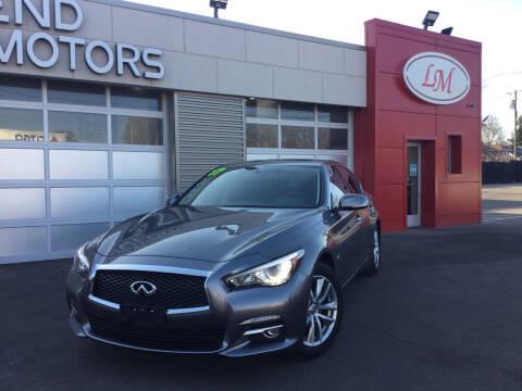 2017 Infiniti Q50 for sale at Legend Motors of Detroit in Detroit MI