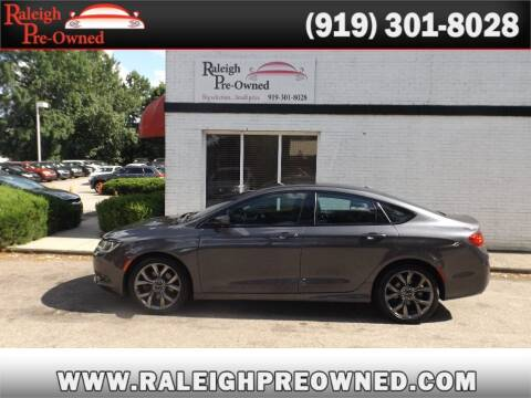 2016 Chrysler 200 for sale at Raleigh Pre-Owned in Raleigh NC