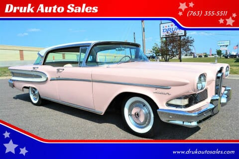 1958 Ford Edsel for sale at Druk Auto Sales in Ramsey MN