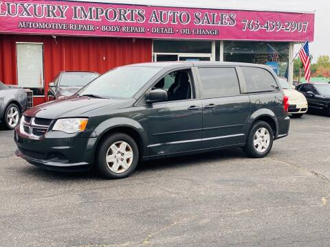 2012 Dodge Grand Caravan for sale at LUXURY IMPORTS AUTO SALES INC in North Branch MN