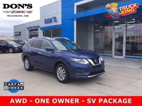 2018 Nissan Rogue for sale at DON'S CHEVY, BUICK-GMC & CADILLAC in Wauseon OH